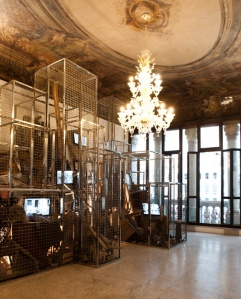 Imprisoned (Artist: Ying Tianqi) at 13th Venice International Architecture Biennale)