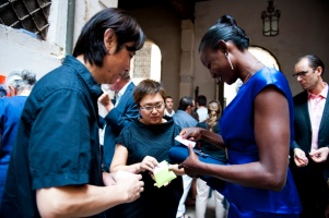 Ying Tianqi at 13th Venice International Architecture Biennale Opening